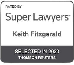 Keith Fitzgerald - Super Lawyers badge